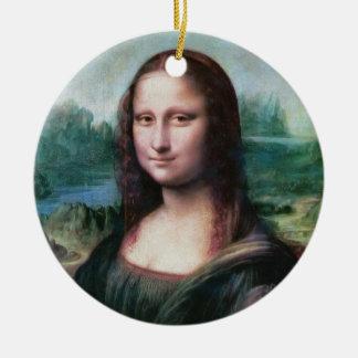 The Mona Lisa La Joconde La Gioconda by Da Vinci Ceramic Ornament