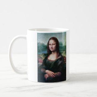 The Mona Lisa La Joconde La Gioconda by Da Vinci Classic White Coffee Mug