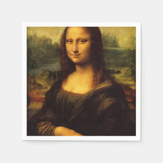 The Mona Lisa Napkin