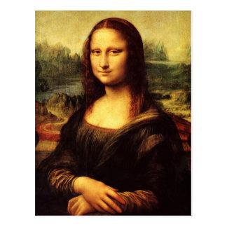 The Mona Lisa or La Gioconda Postcard