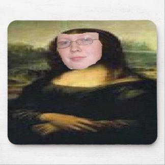 The Mona Lisa Painting Feat. Me MousePad