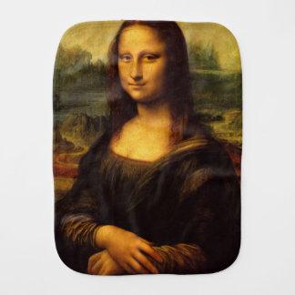 The Mona Lisa Burp Cloths