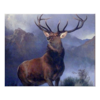 The Monarch of Glen Posters