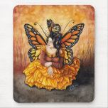 The Monarch Queen Mouse Pad