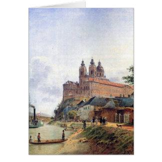 The Monastery of Melk on the Danube Card
