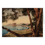 The Monastery of St Honorat, Cannes, France Greeting Card