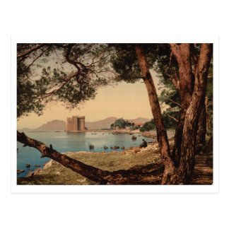 The Monastery of St Honorat, Cannes, France Postcard