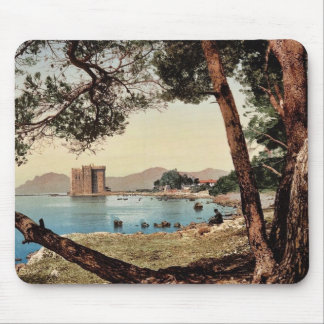 The monastery of St. Honorat, Cannes, Riviera vint Mousepads