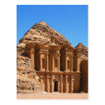 The Monastery Petra Jordan Postcard