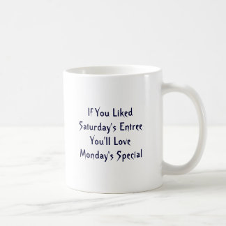 The Monday Special Mugs