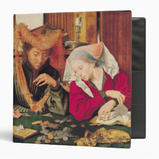 The Money Changer and his Wife, 1539 Vinyl Binder