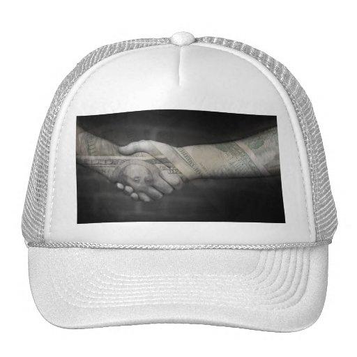 The Money Handshake Trucker Hats