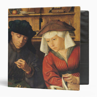 The Money Lender and his Wife, 1514 3 Ring Binder