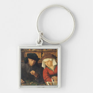 The Money Lender and his Wife, 1514 Keychain