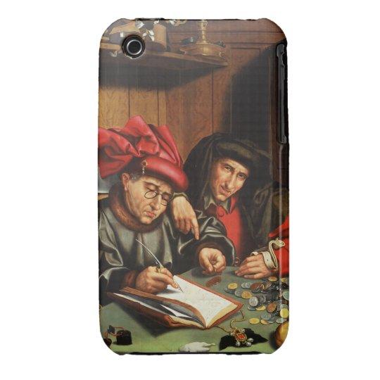 The Money Lenders (oil on oak panel) iPhone 3 Case