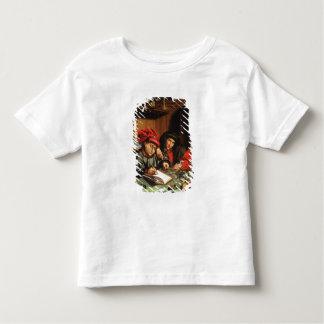The Money Lenders (oil on oak panel) Toddler T-shirt