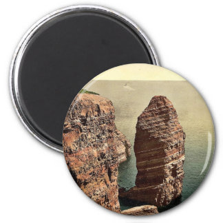 """The """"Monk"""" from above, Helgoland, Germany magnific Magnet"""