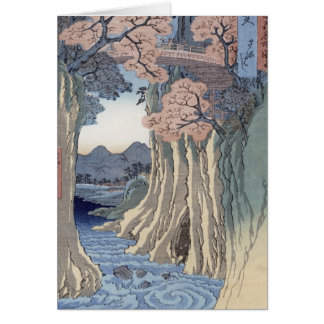 The monkey bridge in the Kai province Card