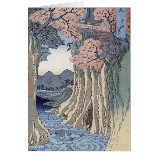The monkey bridge in the Kai province Card