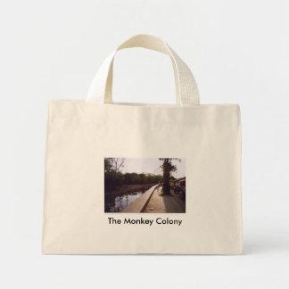 The Monkey COlony Mini Tote Bag