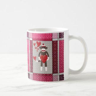 The monkey in-love. coffee mug