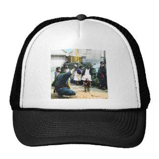 The Monkey Man of Old Japan Vintage Japanese Trucker Hat