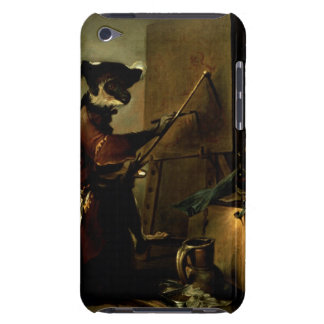 The Monkey Painter, 1740 (oil on canvas) iPod Touch Case