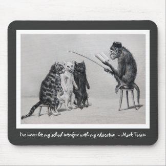 The Monkey Professor Mouse Pad