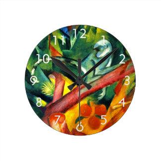 The Monkey Round Clock