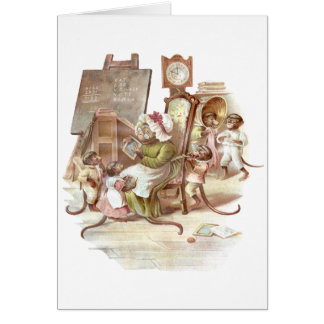 The Monkey School Card