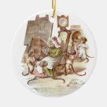 The Monkey School Vintage Illustration Ornaments