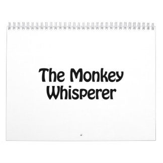 the monkey whisperer calendar