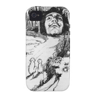 The Monkeys Admired It Greatly Vibe iPhone 4 Cover