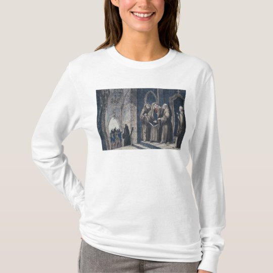 The Monks covering King with drape Camenz Convent T-Shirt
