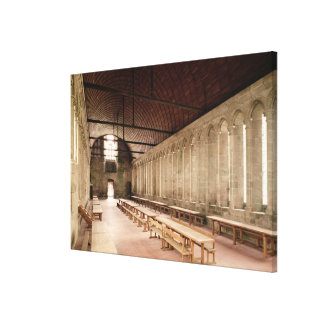 The Monks's Refectory Canvas Print