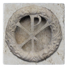 The Monogram of Christ - Chi-Rho Trivet