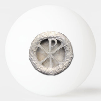 The Monogram of Christ Ping-Pong Ball