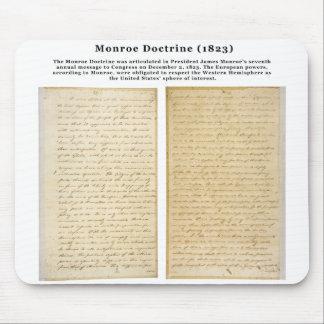 The Monroe Doctrine (1823) Mouse Pad
