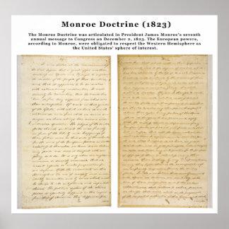 The Monroe Doctrine (1823) Poster