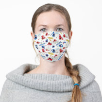 The Monster at the End of This Story Pattern Adult Cloth Face Mask