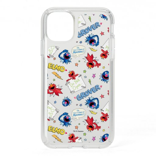 The Monster at the End of This Story Pattern Speck iPhone 11 Case