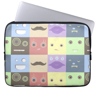 The Monster Box Bunch Laptop Case Laptop Computer Sleeve