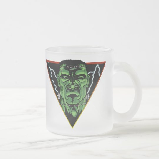 The Monster Frosted Glass Coffee Mug