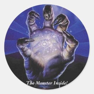 The Monster Inside! - Peel Off Sticker