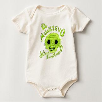 The Monster of the Marsh Baby Bodysuit