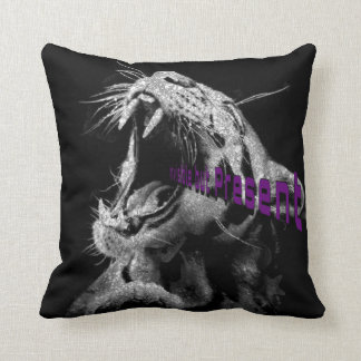The Monster Within Throw Pillow