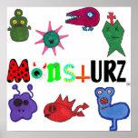 The monstURZ crewww Poster