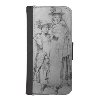The Montagu Sisters in Rome, 1815 iPhone 5 Wallet