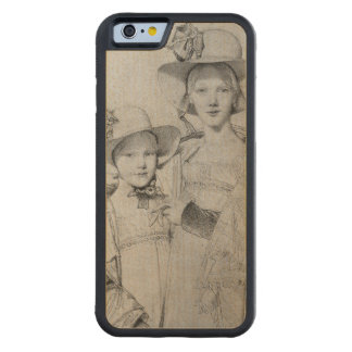 The Montagu Sisters in Rome, 1815 Carved® Maple iPhone 6 Bumper