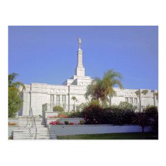 The Montevideo Uruguay LDS Temple Postcard